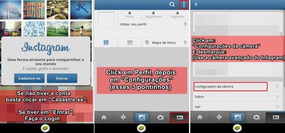tutorial postando fotos no instagram pelo pc - 3